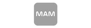 Logo de MaM